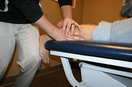 Active Release Technique Being Performed by Our Chiropractors